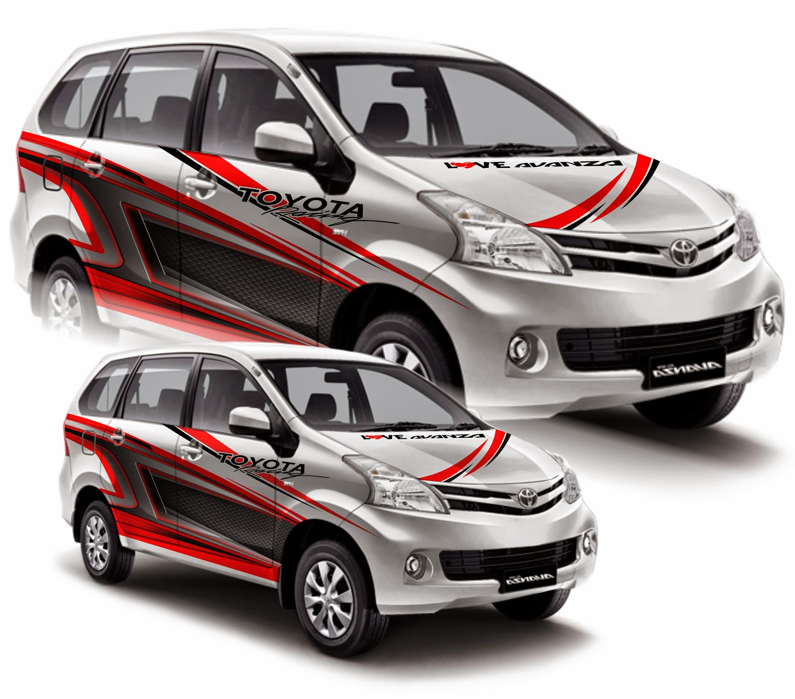 Cutting Sticker Grand New Avanza All Toyota Alphard 2018 Indonesia 98 Modifikasi Stiker Mobil Veloz Bekasi