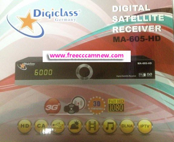 تحديث جديد لجهاز DIGICLASS MA-605 HD وأشباهه,تحديث جديد لجهاز, DIGICLASS MA-605 HD ,وأشباهه,