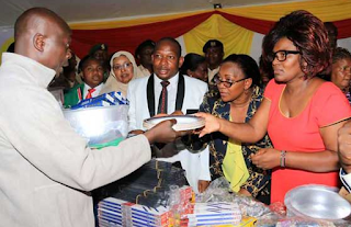 Donations in huruma from Senator and women representative