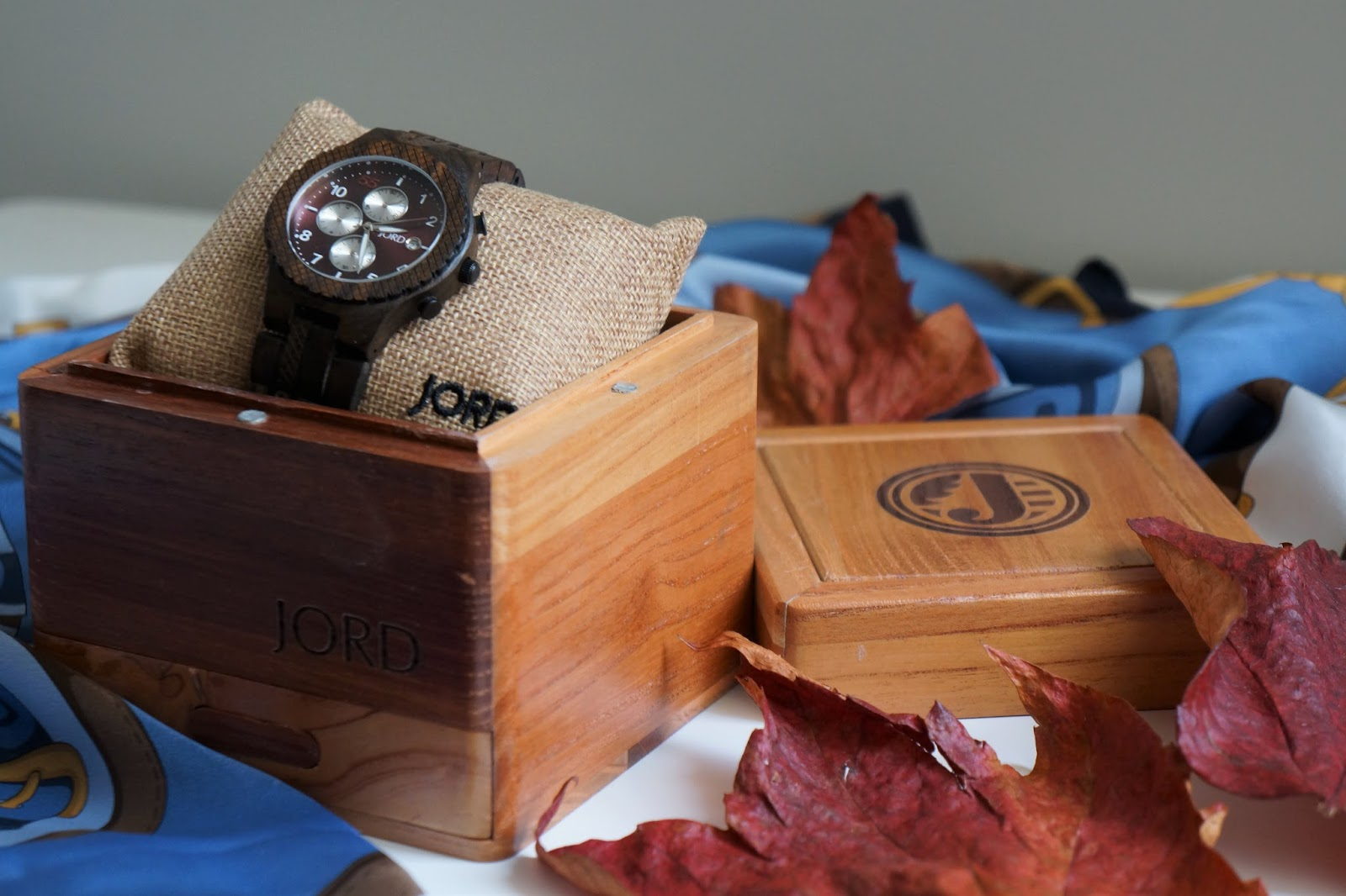 JORD men's wooden watch in a wooden gift box