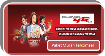 Kode Paket Murah Telkomsel 2GB Rp 25.000 dan 3.5GB Rp 45.000