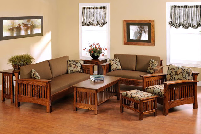 Bật mí cách lựa chọn bàn ghế gỗ hiện đại đi đầu xu hướng cho phòng khách