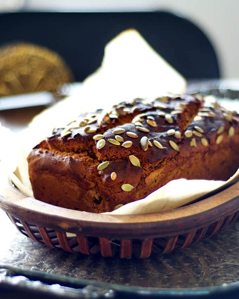 Vegan and Gluten-Free Pumpkin Bread
