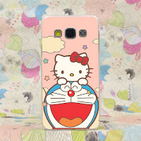 Custom case Doraemon Hello Kitty