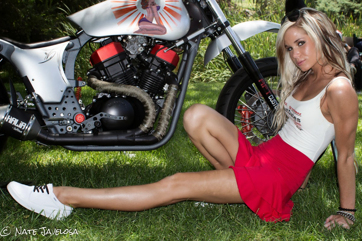Nate Javelosa: LA Calendar Motorcycle Show Long Beach 2013