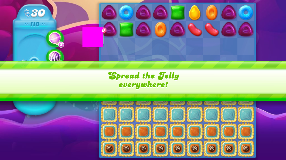 Candy Crush Jelly Saga 113