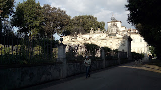 Aviario Villa Borghese roma portugues - Villa Borghese com guia em português