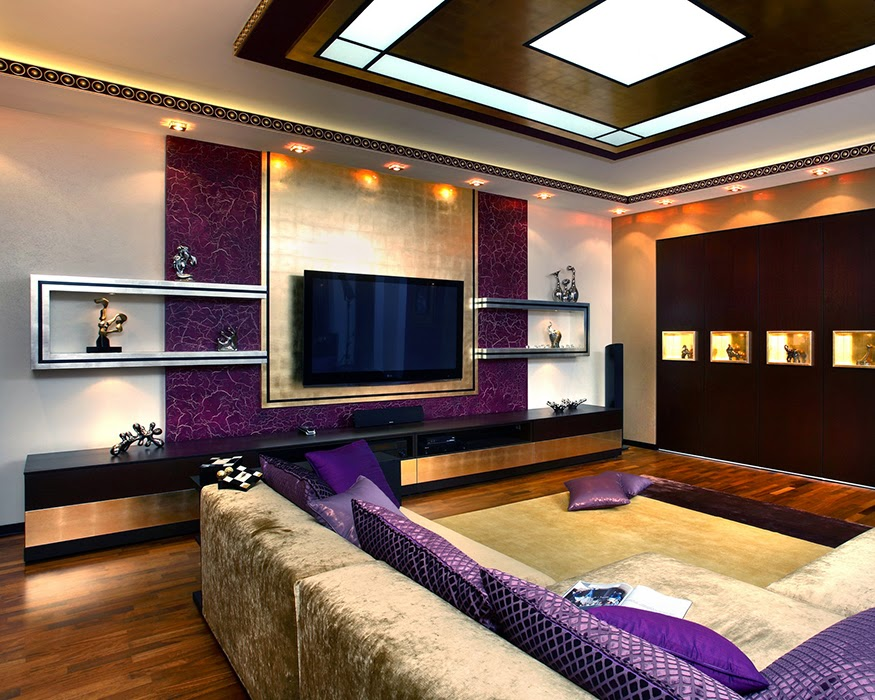 modern ceiling lights in large open living room - 10 Functional Modern Ceiling Lights For All Rooms Home And