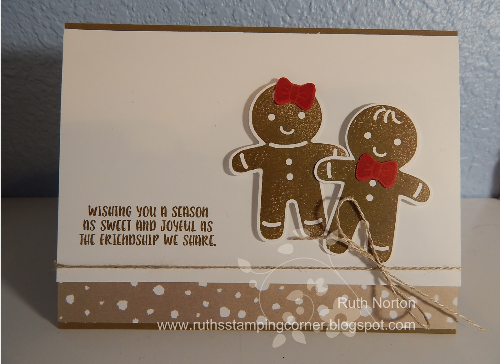 Ruth's Stamping Corner: Cookie Cutter Christmas