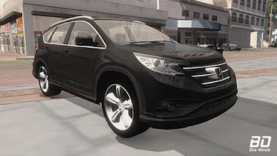 Download mod carro Honda CR-V 2014 para GTA San Andreas, GTA SA Jogo PC