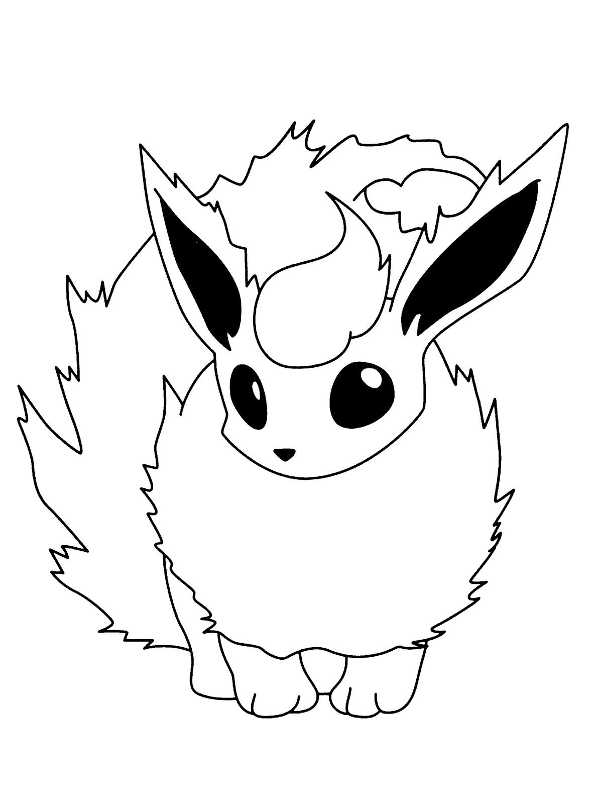 Best HD Cute Pokemon X And Y Coloring Pages Image - Free ...