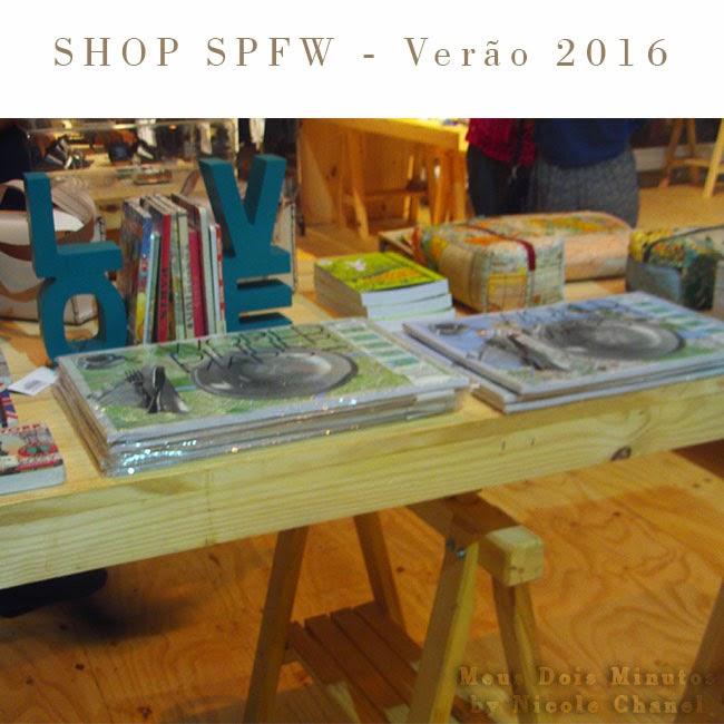 SPFW 20 anos - Itens inspiracionais