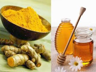 Cách làm trắng da tự nhiên đơn giản từ nghệ mật ong