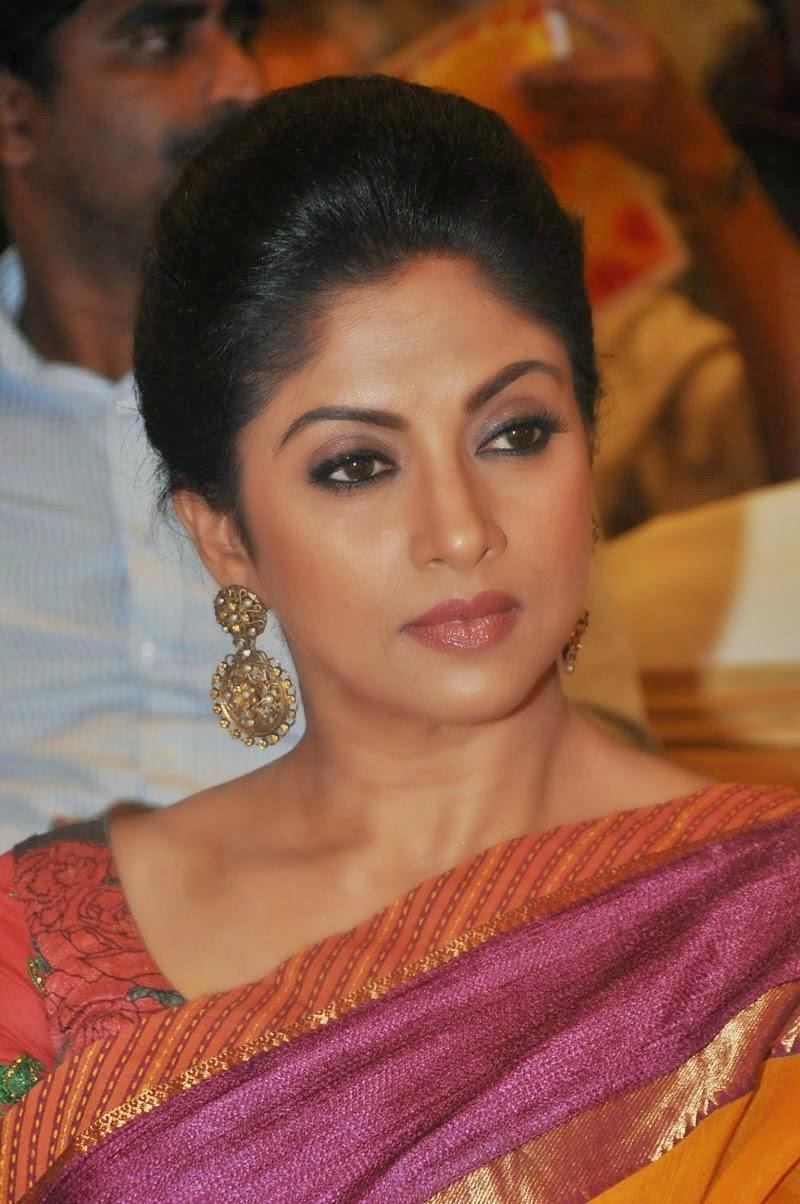 Telugu Actress Nadhiya Latest Saree Photos - Hd Latest -4670