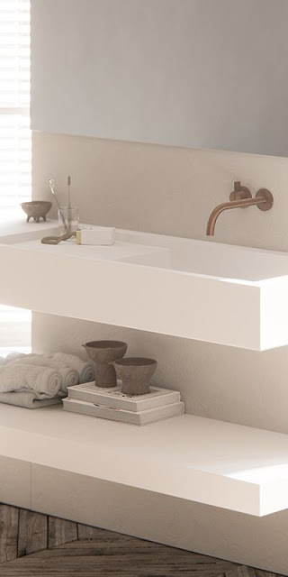 Modern luxury sink minimal sophisticated interior design by Piet Boon