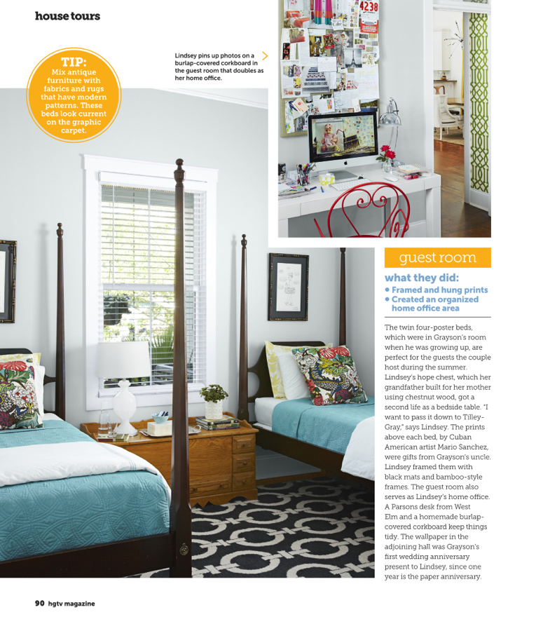 Fifi Cheek Hgtv Magazine Photos Details