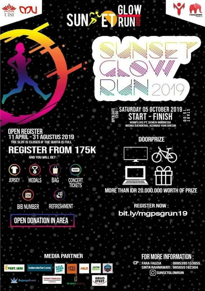 Sunset Glow Run • 2019