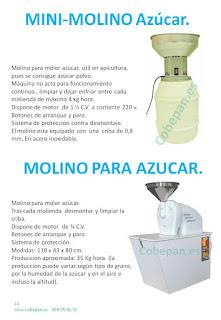 Molinos Azucar y Mini molino.