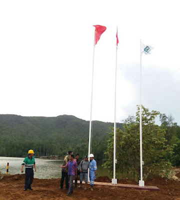 bendera china di halmahera