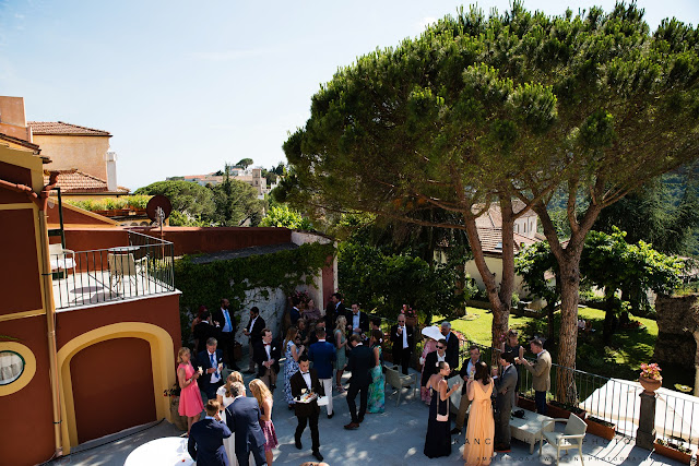 Wedding reception in Ravello