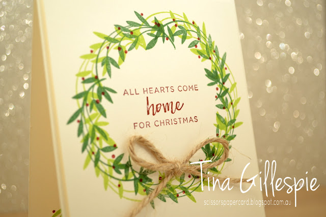 scissorspapercard, Stampin' Up!, Art With Heart, Christmas, Hearts Come Home, Beautiful Peacock