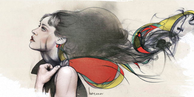 Fiona Apple Ilustración de Kareena Zerefos Entrevista de Pitchfork 2012