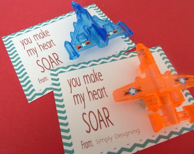 you make my heart soar valentine 01b You Make My Heart SOAR Valentine {Free Printable} 7