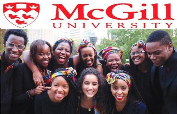 Work and Study in Canada - McGill University International Scholarship - Undergraduates, Masters and PhD