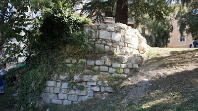 Restos de la muralla de Madrid