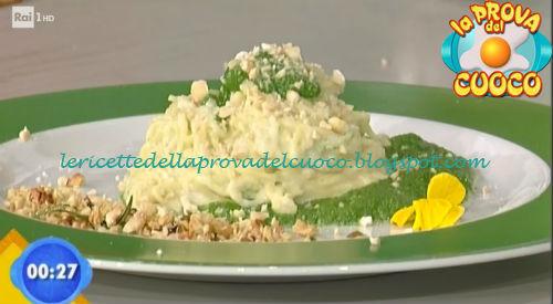 Chitarrine con spinaci e fonduta di marzolino ricetta Piparo da Prova del Cuoco