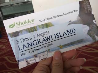 Langkawi; Shaklee Labuan; Alicia shaklee; free trip shaklee