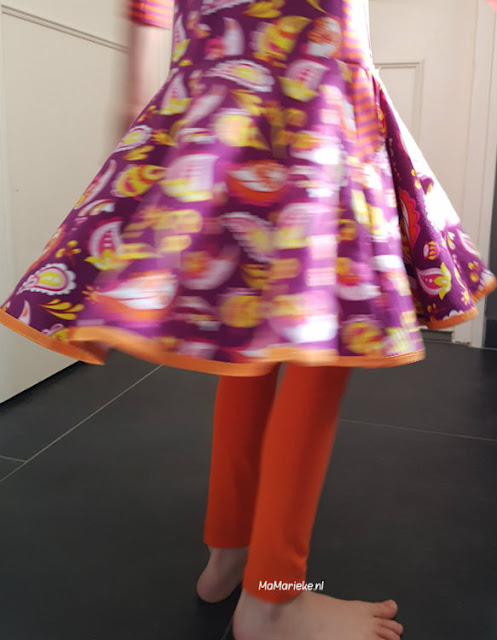 AnniNanni legging, Foras jurk Sofilantjes