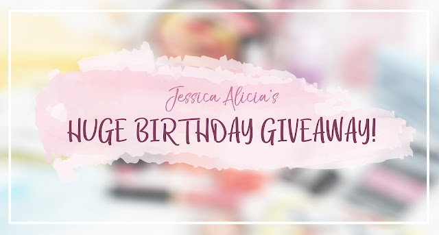 JESSICA ALICIA'S HUGE BIRTHDAY GIVEAWAY! 5 WINNERS