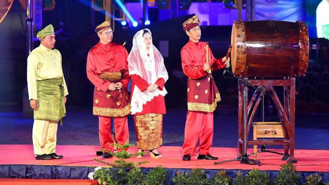 Pesan Jokowi di MTQ Nasional: Baca Alquran Agar Tak Ada Lagi Hoaks