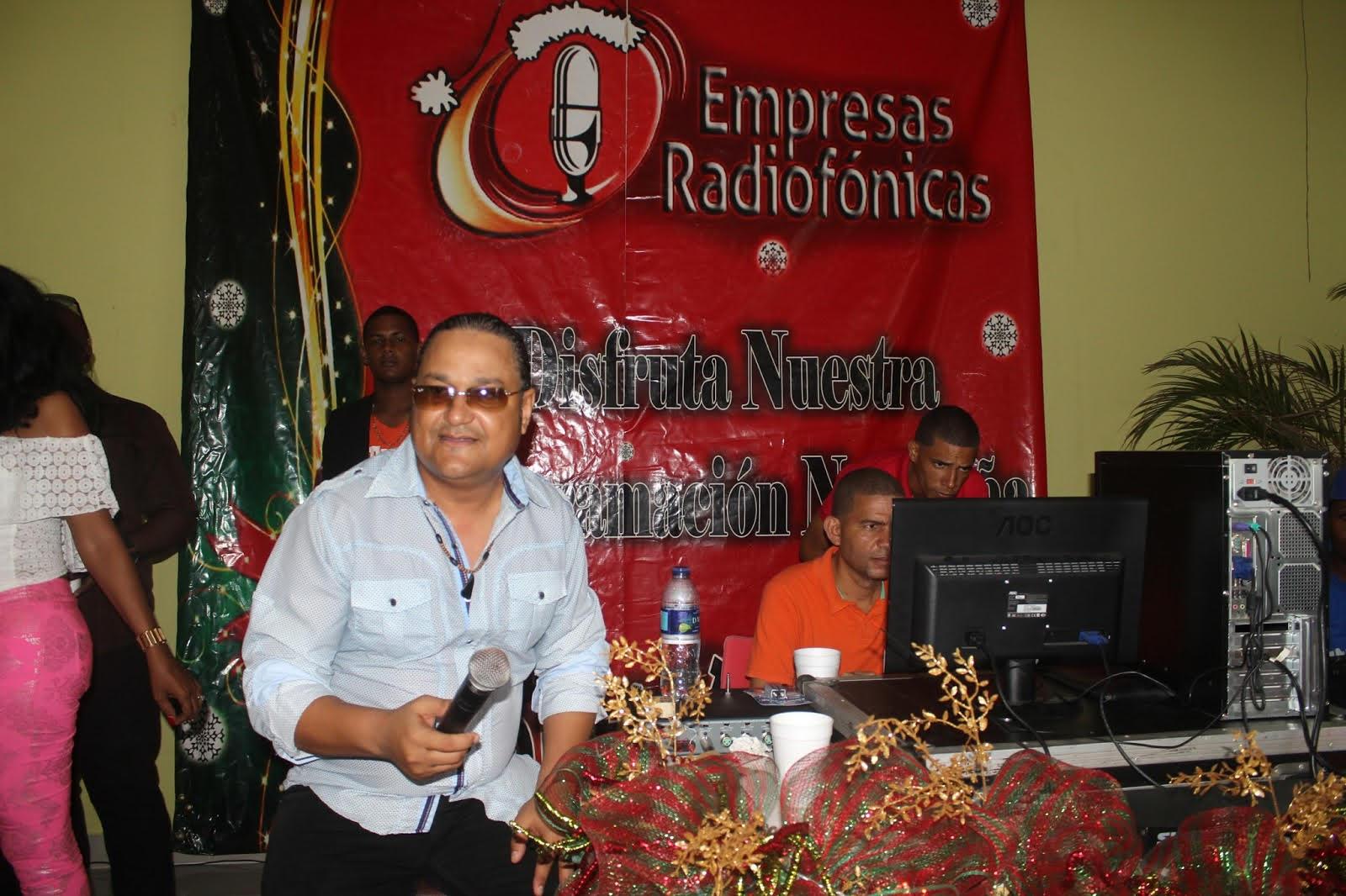 Empresas Radiofónicas realizará recepción en octubre de programas navideños de sus emisoras