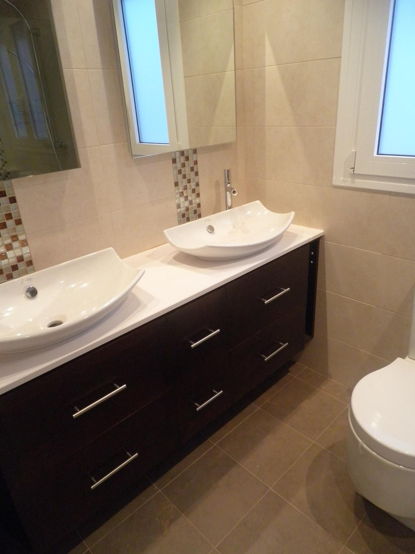 Mueble bajo lavabos colgado - Muebles Cansado (Zaragoza ...