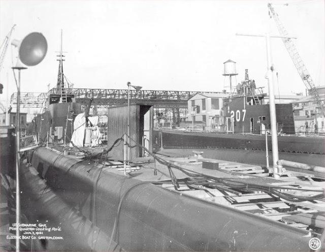 3 January 1941 worldwartwo.filminspector.com USS Gar USS Grampus