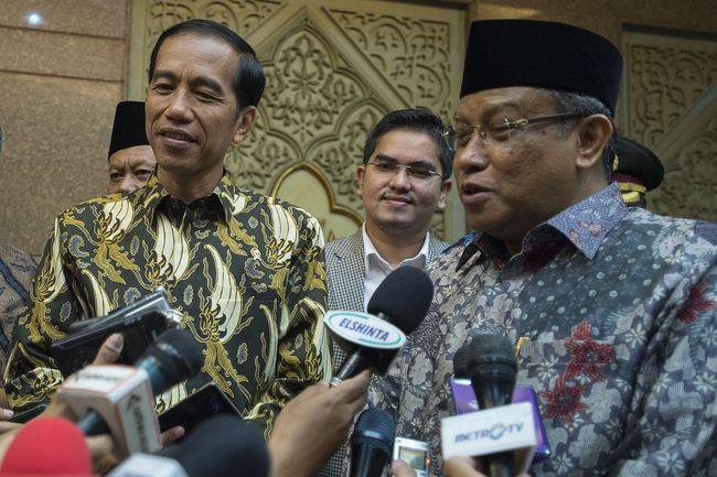Said Aqil Siradj dan Jokowi