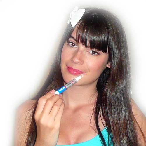como aplicar lapiz seca granos urgo monika sanchez blog de maquillaje