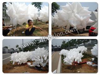 Balon Foil Burung Merpati