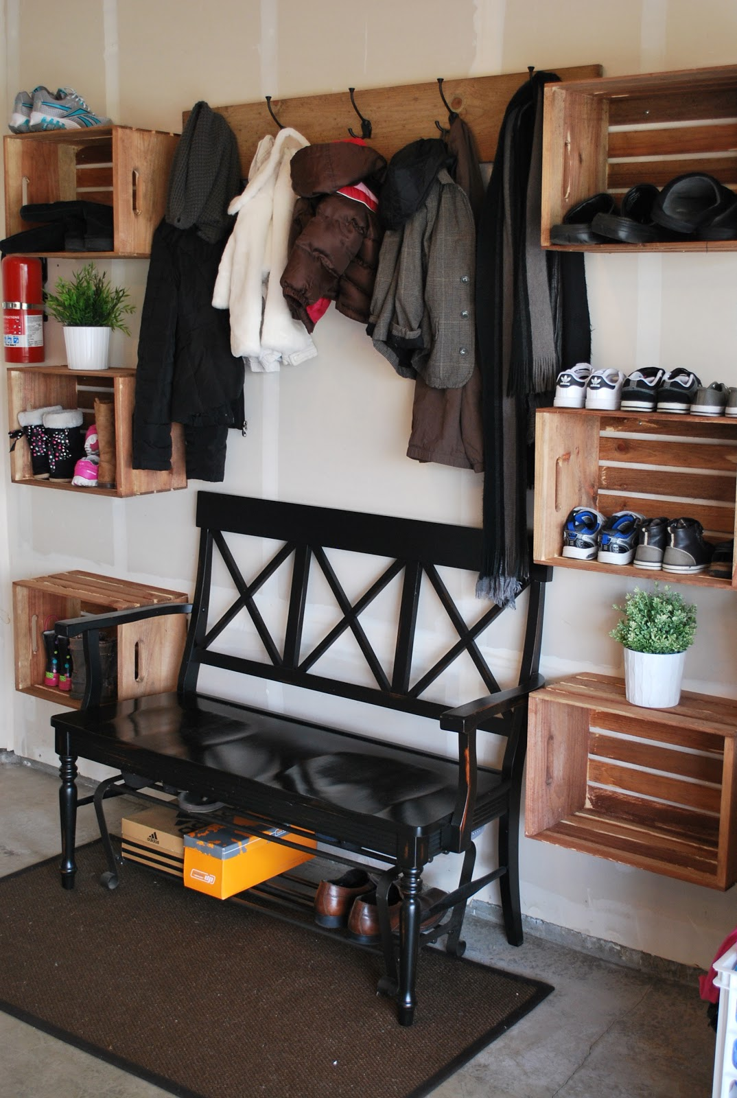 Garage Mudroom Idea