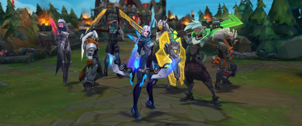 Lol project skins release   PROJECT  2019-02-27