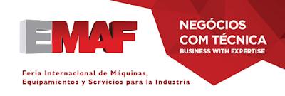 EMAF 2016 Oporto, Feira Internacional de Máquinas, Equipamentos y Servicios para la Indústria