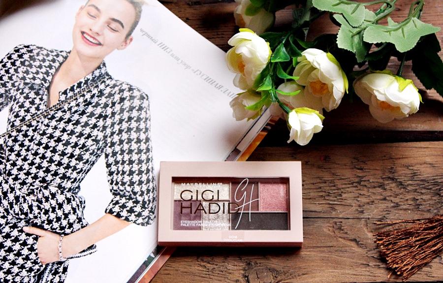 Палетка теней Maybelline Gigi Hadid Eyeshadow Palette #Cool / обзор, отзывы, свотчи