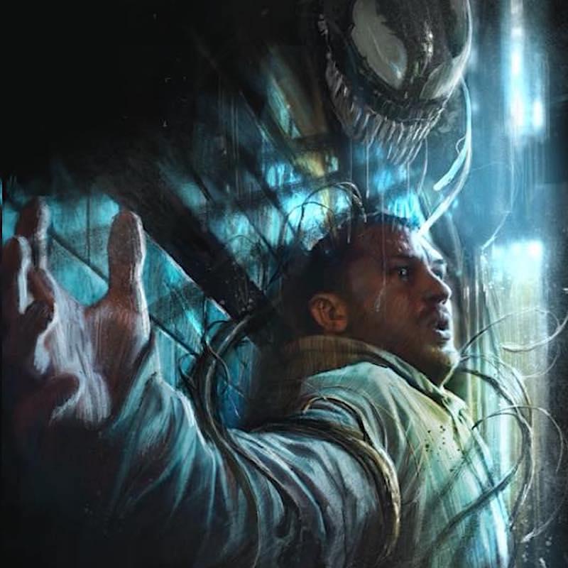 Venom With Tom Hardy Fanart By Rudy Ao