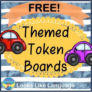 Themed Token Board Freebies- Looks-Like-Language