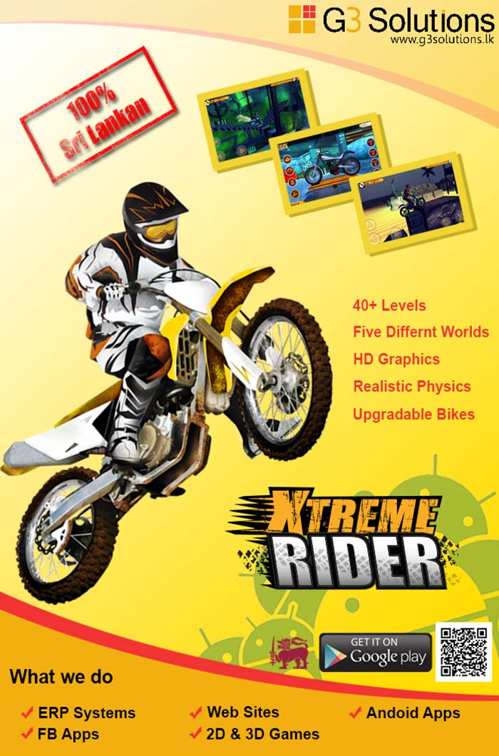 Xtream Rider is filled with adventures insane stunt action, drive you through stunningly beautiful environments while enjoying the realistic bike physics. The game play is easy to pick up but hard to master which will keep you in the track for hours. This is your chance to step up and prove that you are the most intense and competitive biker to your friends.
