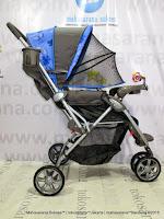 duduk Kereta Dorong Bayi BabyDoes CH278 Parade-X Roda 3 Hadap Depan atau Belakang