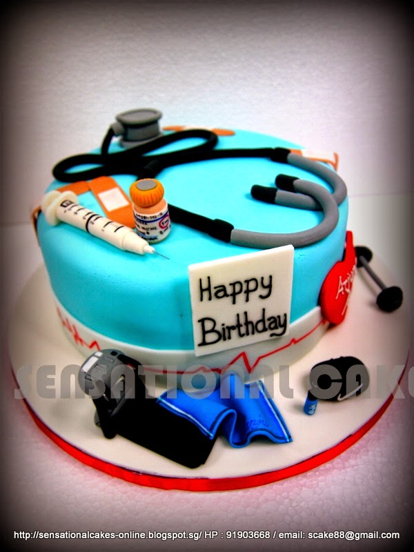 The Sensational Cakes DOCTOR CAKE SINGAPORE GYM CAKE SINGAPORE