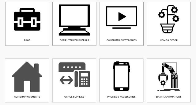 Myratos.com categories